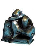 Keramische standbeeld urnen