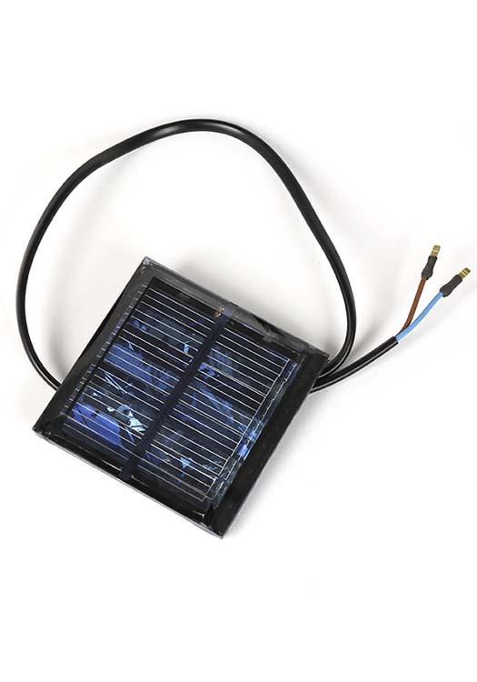 Zonnepaneel voor Solar-Graflantaarn
